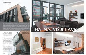 Članek v reviji Pri nas doma